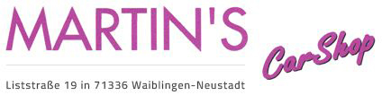 Martins Car Shop GmbH - Logo